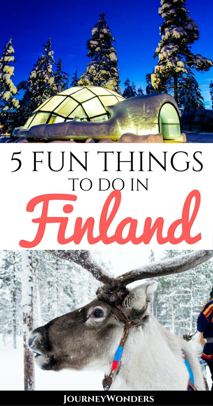 Winter In Finland: From Northern Lights To Ice HotelsThere's no more magical time to travel to Finland than in winter. Beautiful nature, snowy landscapes, Christmas markets, igloos & ice hotels, and of course -- the Northern lights! All the best tips for a winter in Finland via @journeywonders