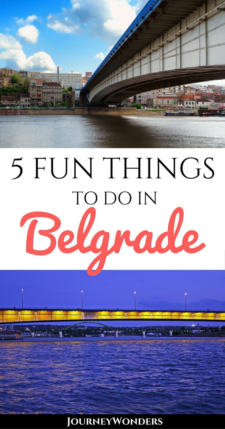 Visit Belgrade, Serbia and get drawn into some of the most epic nightlife in Eastern Europe! This Balkan city is full of river boats, funky bars, nightclubs & so many more places that stay open until dawn via @journeywonders