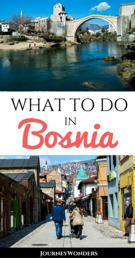 Bosnia is a beautiful country with a sad history. Learn about the stories of Mostar, Sarajevo, & other areas impacted by the Bosnian war to understand the culture before you travel there via @journeywonders