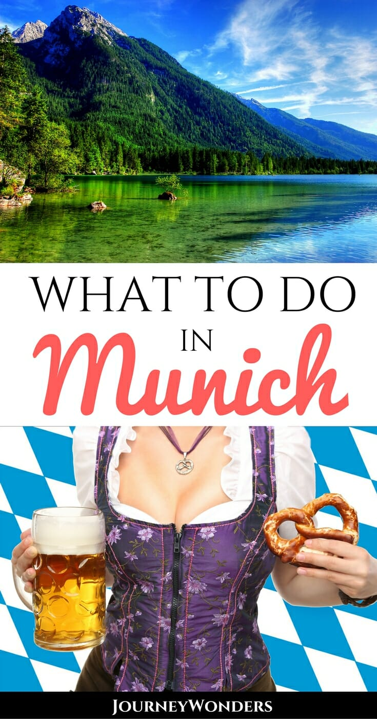 When you think Munich, you think Oktoberfest, right? There's so many more things to do in Munich than that! Skip the nightlife & check out castles, markets, Bavarian restaurants & more via @journeywonders