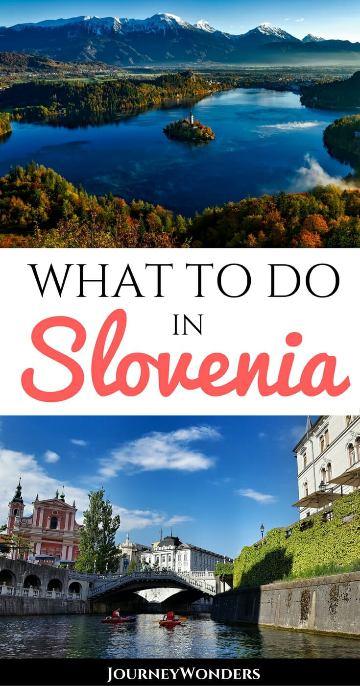Ljubljana, Slovenia is a fun, funky capital with a vibrant old town, funky hipster coffee shops, street art, delicious food, nearby castles, day trips to Lake Bled & so much more via @journeywonders