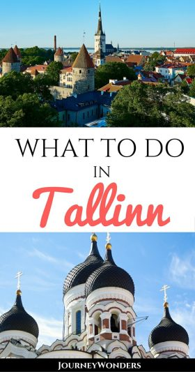 Tallinn, Estonia in winter is a dream destination. From the old town to the Christmas markets to delicious hearty food in restaurants, there are so many things to do in Tallinn even in the snow via @journeywonders