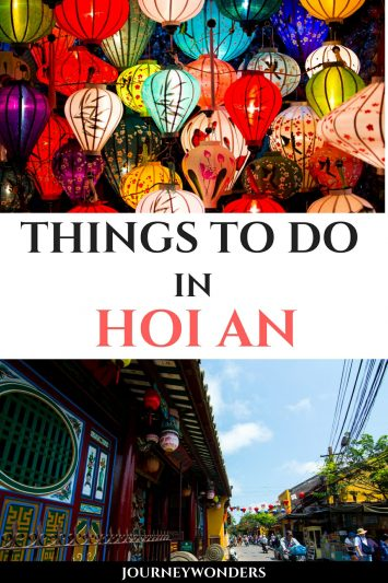 Things to do in Hoi An Vietnam Asia
