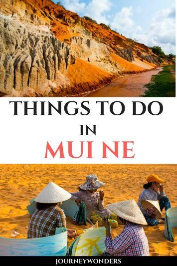 Things to do in Mui Ne Vietnam Asia
