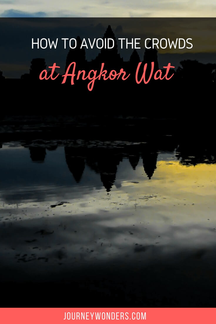 Wanna know how to avoid the crowds at Angkor Wat? Read all about the secret to having Angkor Wat, Cambodia all for yourself.