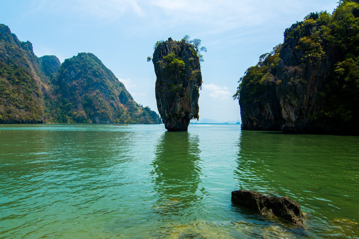 James Bond Island near Krabi Thailand