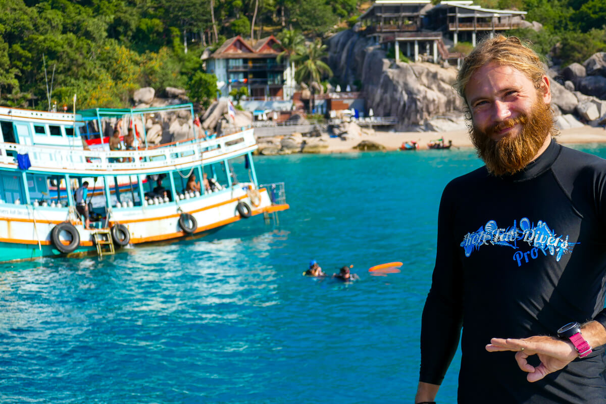The Awesome Antti of Koh Tao Divers