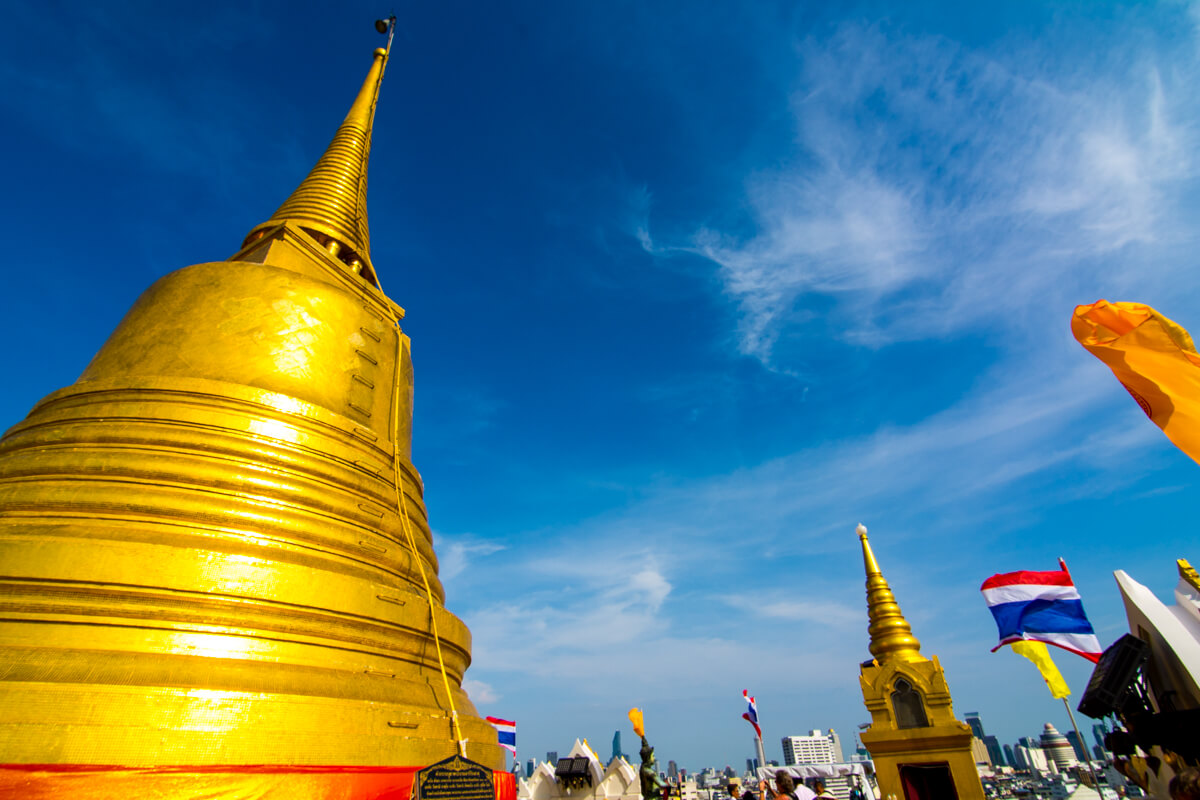 The Golden Mount temple in Bangkok