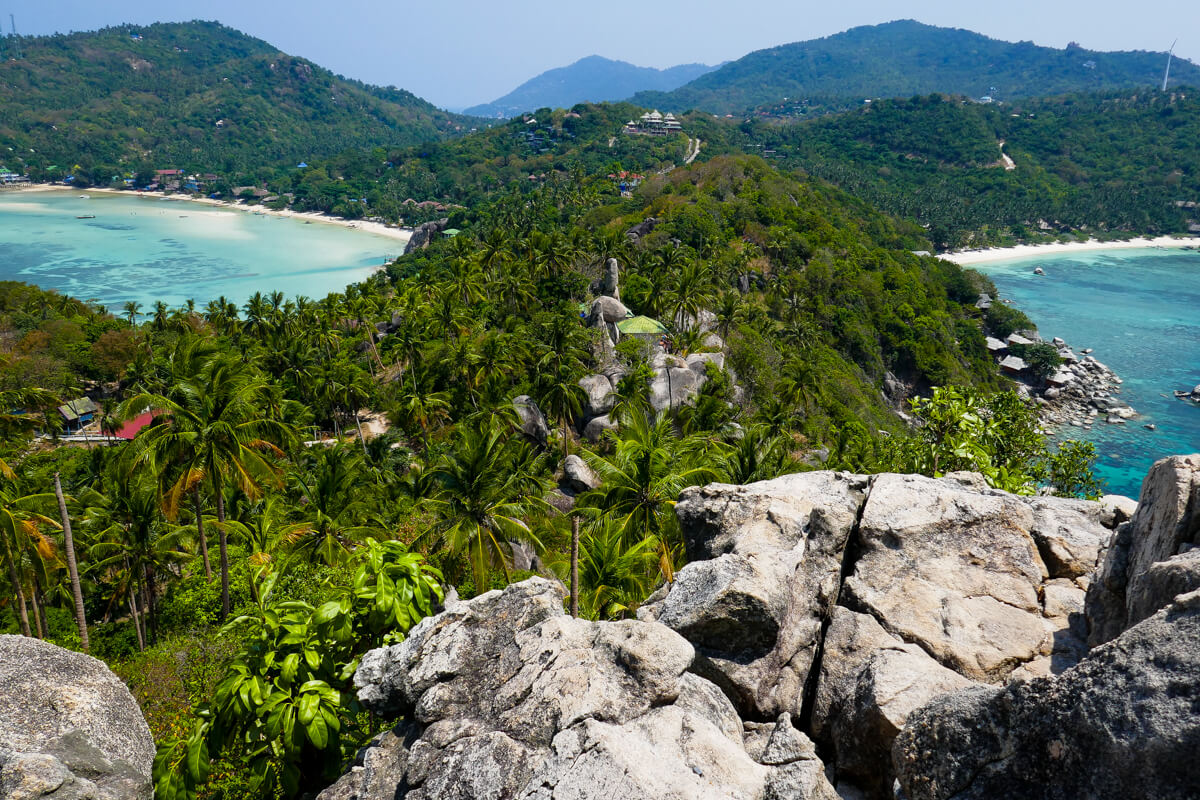 The John Suwan Viewpoint in Koh Tao