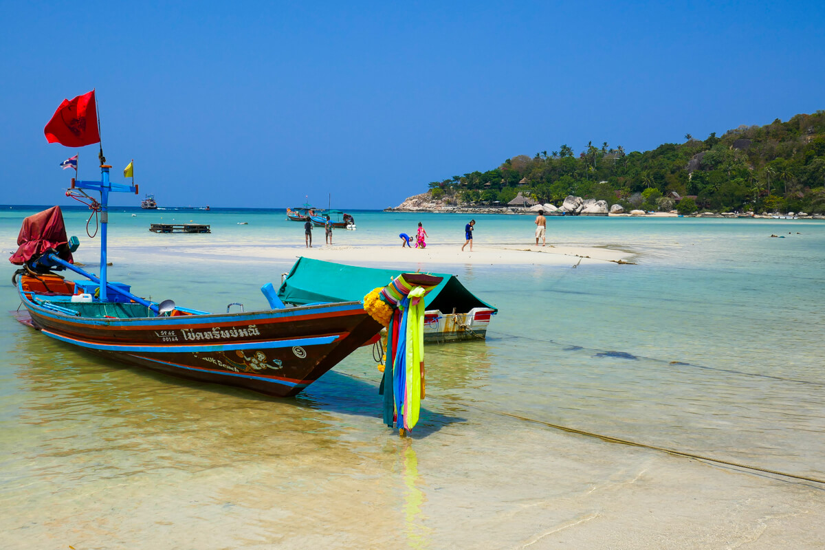 The awesome beaches of Koh Tao South Thailand