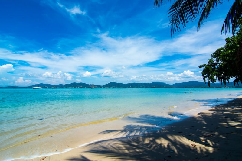 The peaceful Panwa beach in Phuket