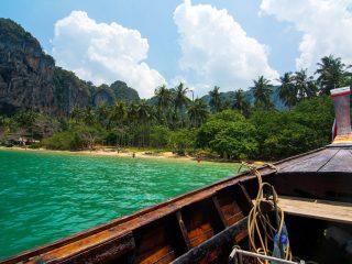 Tonsai beach in Krabi South Thailand