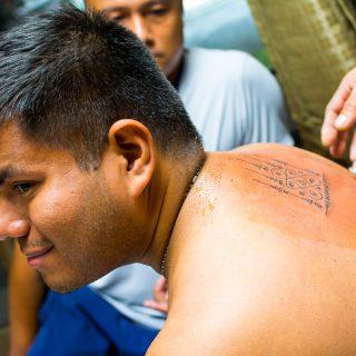 Getting a Sak Yant Tattoo in Bangkok 4