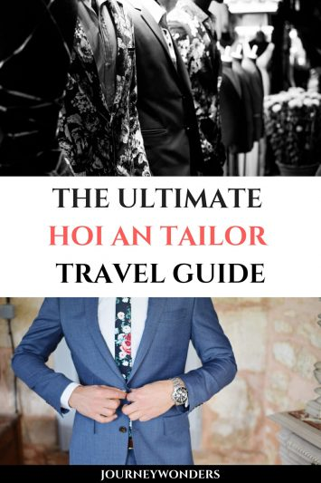 The Ultimate Hoi An Tailor Travel Guide