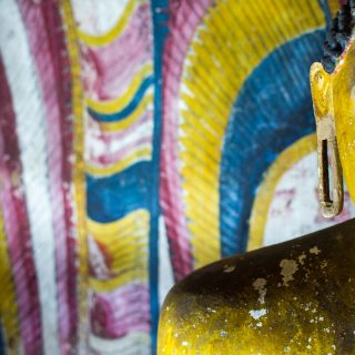 The teachings of Buddha at the Dambulla Cave Temple