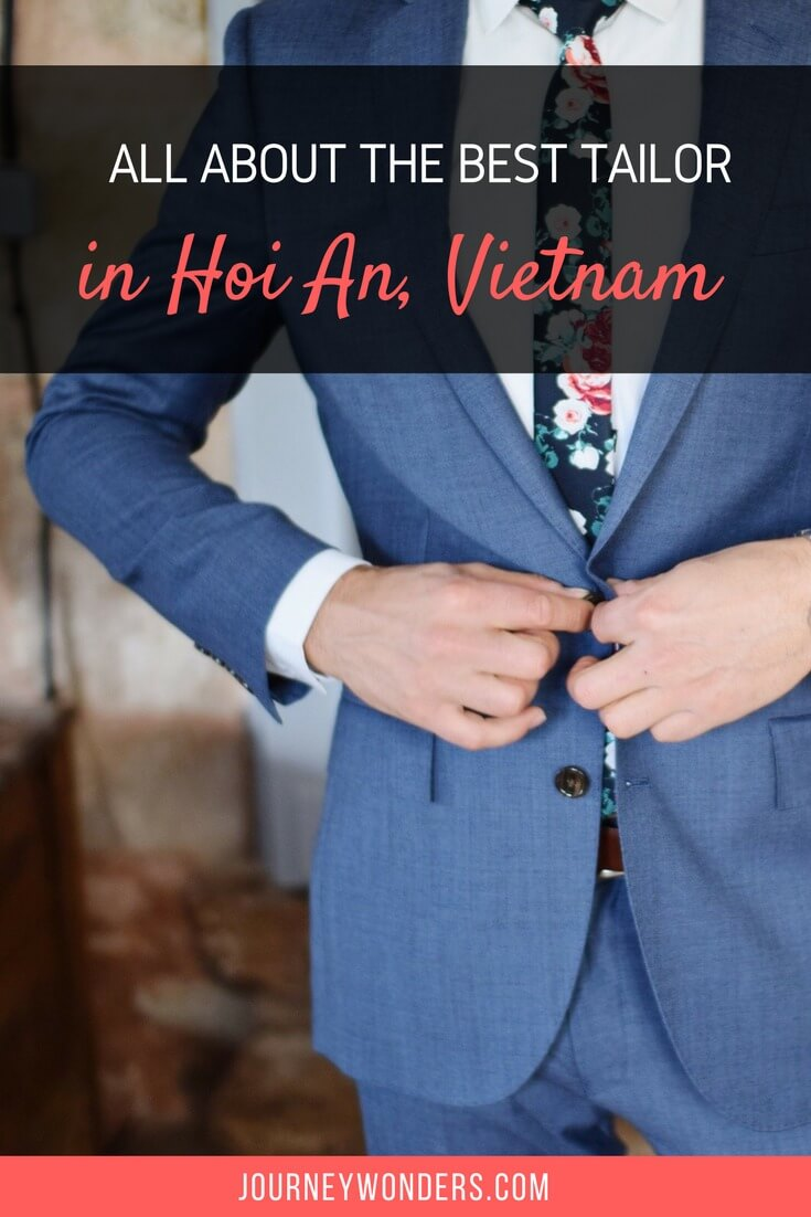 Looking to get a bespoke suit in South East Asia? Here's some tips to avoid the scams and find the Best Tailor in Hoi An, Vietnam via @journeywonders