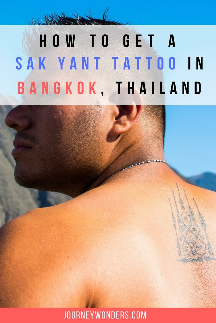 Ink Of Wonders Getting A Sak Yant Tattoo In Bangkok
