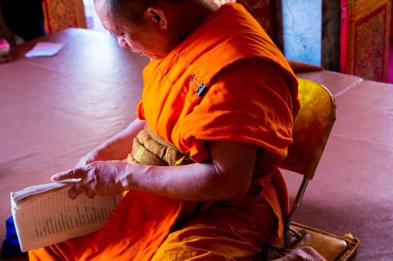 Monk Blessing in Chiang Mai