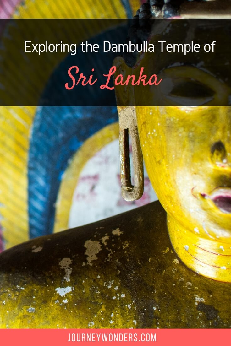Would you like to learn more about Buddhism in Sri Lanka? Here's what a visit to the Dambulla Cave Temple taught me.