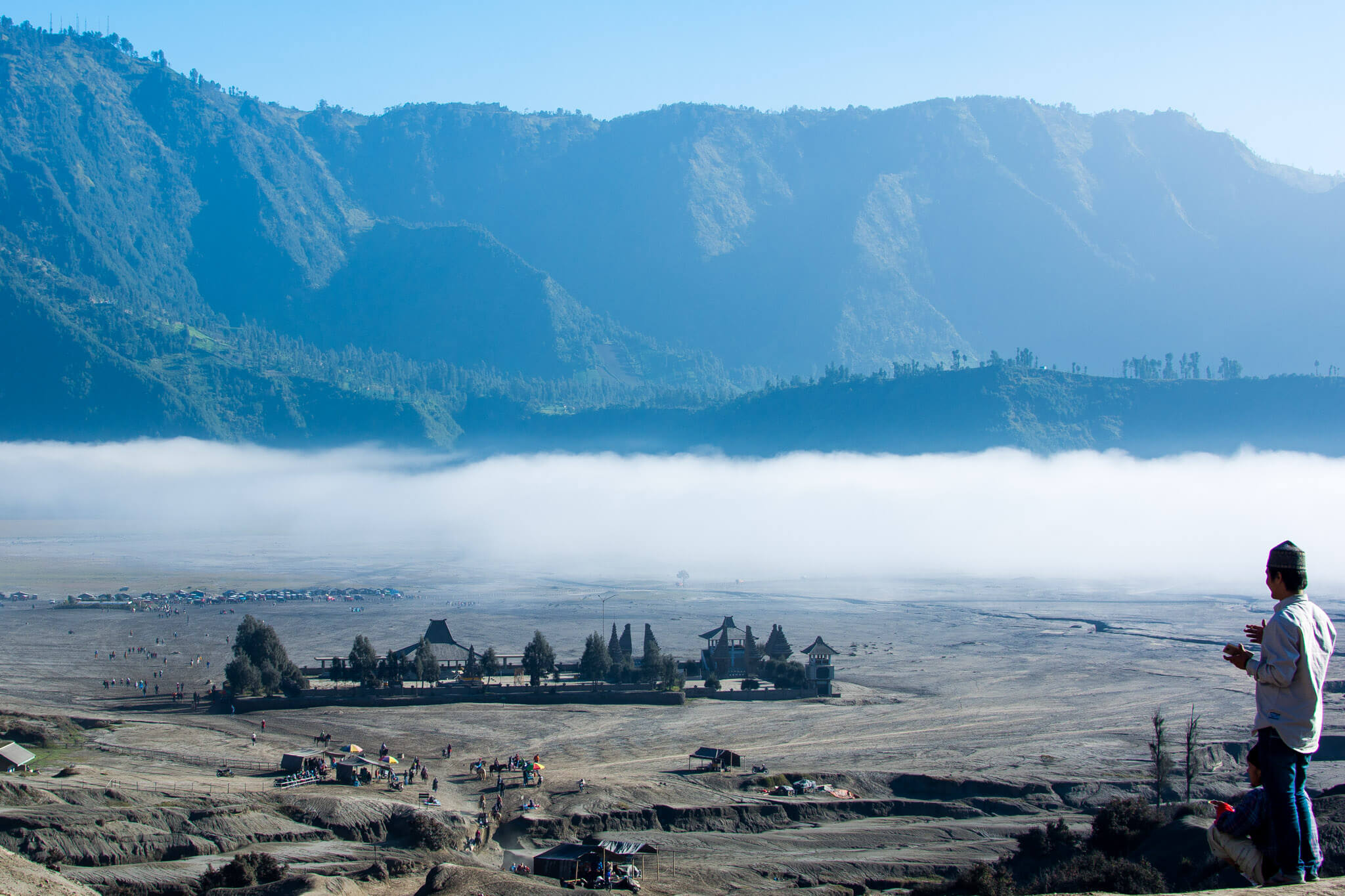 The Hindu Temple of Mount Bromo