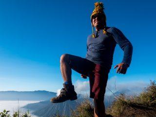 The Man of Wonders versus the Volcano of Wonders