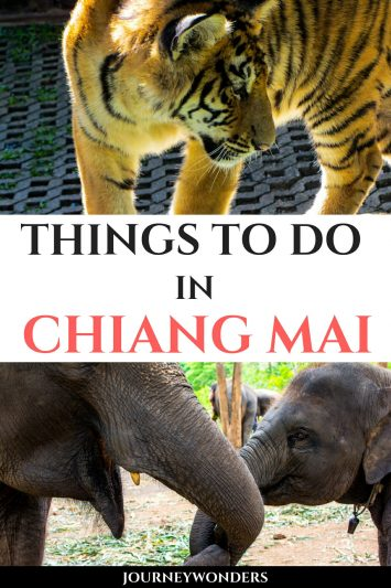 Things to Do and See in Chiang Mai, Thailand