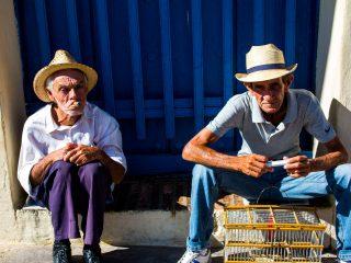 A couple of Cuban gentlemen in Trinidad