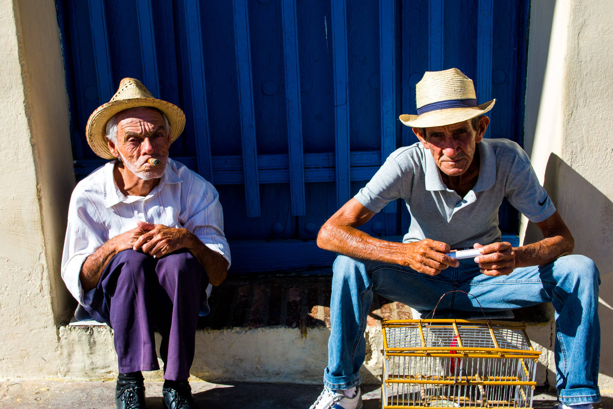 A couple of Cuban gentlemen in Trinidad