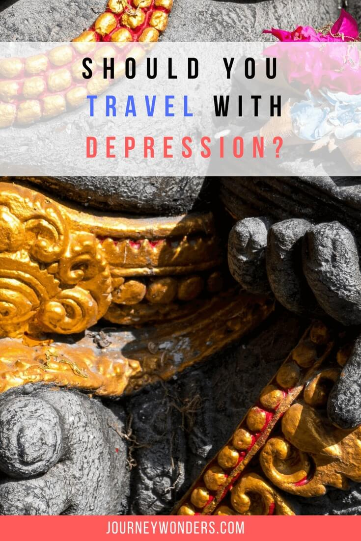 Interested in knowing what it's like to travel with depression? Read all about it in this article my and let's help to spread mental health awareness!