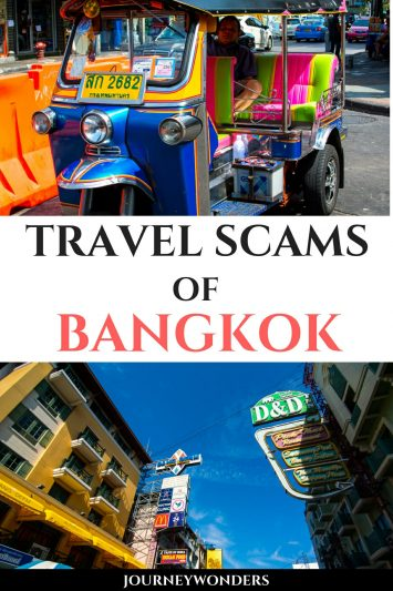 Tips to Avoid Travel Scams in Bangkok, Thailand
