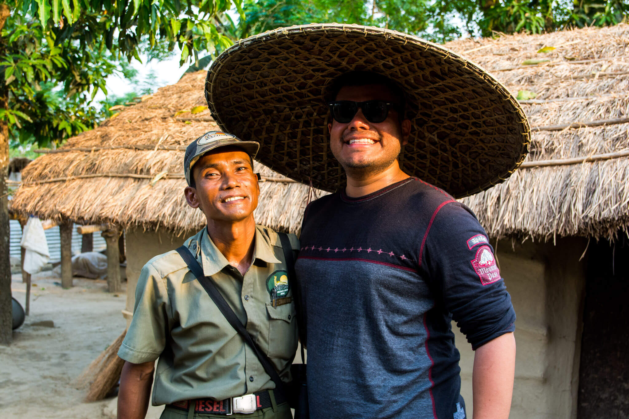 Me hanging out with my Nepalese safari guide