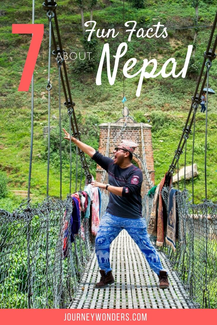 Nepal is a very enigmatic and interesting country located in the heart of the Himalayas. Here's 7 things you didn't know about Nepal, Kathmandu and the Himalayas.