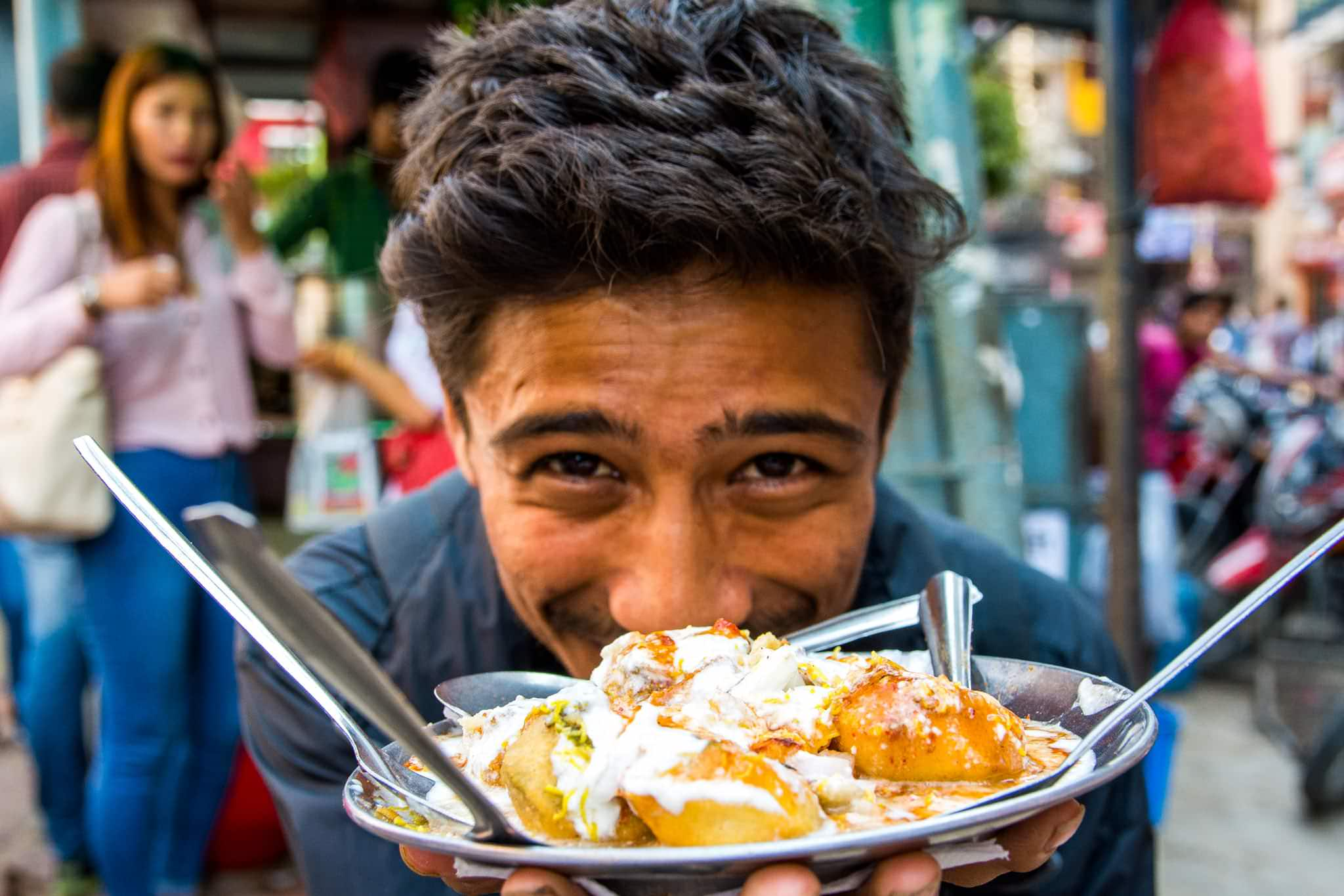 Our Kathmandu food tour guide from Backstreet Academy