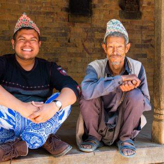 The Man of Wonders blending in at Nepal