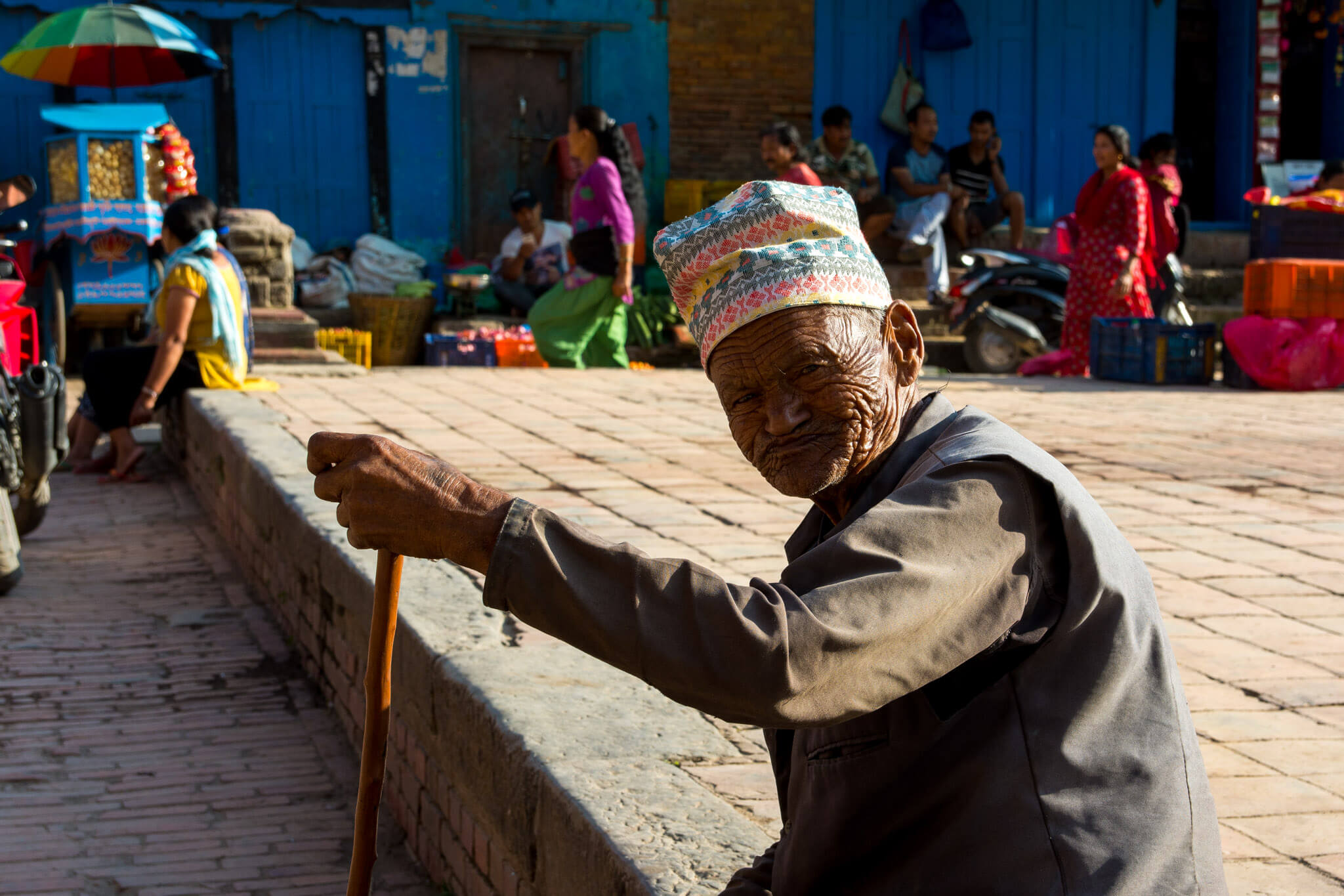 The old and wise men of Nepal