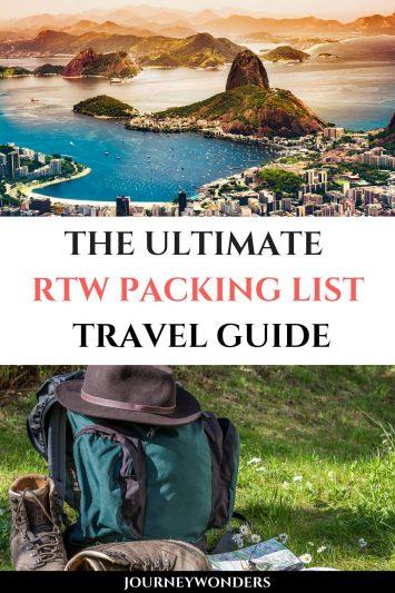 The Ultimate RTW Packing List Travel Guide