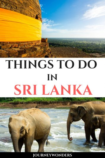 Things to Do and See in Sri Lanka