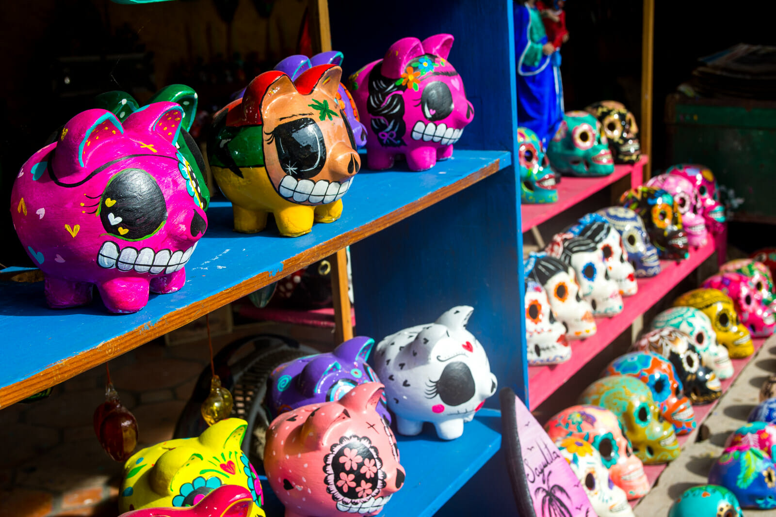 Mexican handcrafts at Sayulita