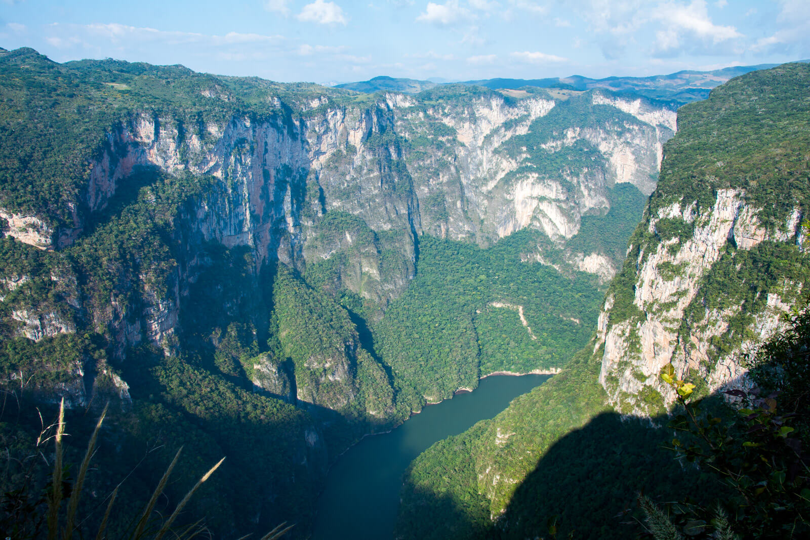A visit to the Sumidero Canyon isn't complete without the panoramic viewpoints