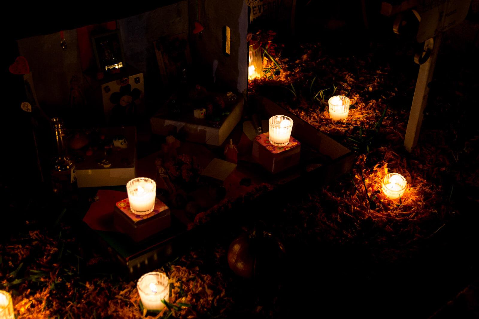 The Dia de Muertos' altars in Oaxaca