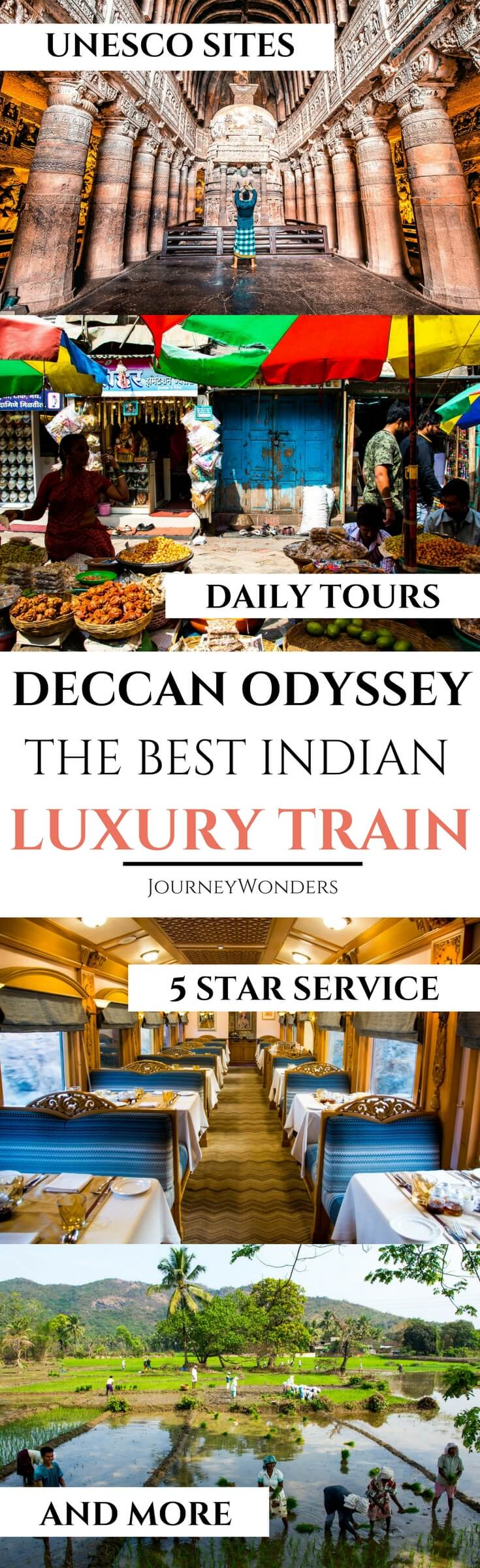 Want to travel like a Boss in India? Read all about the Deccan Odyssey Train here and see what Luxury Train Travel in India looks like including information about Deccan Odyssey Prices and Itinerary! Enjoy!!! #Mumbai #Goa #Maharashtra