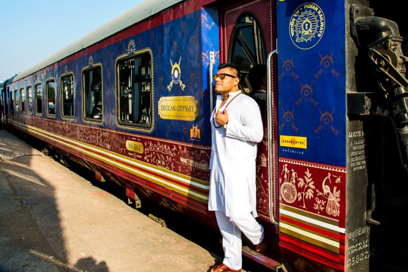 The Man of Wonders at the Deccan Odyssey Train of Luxury