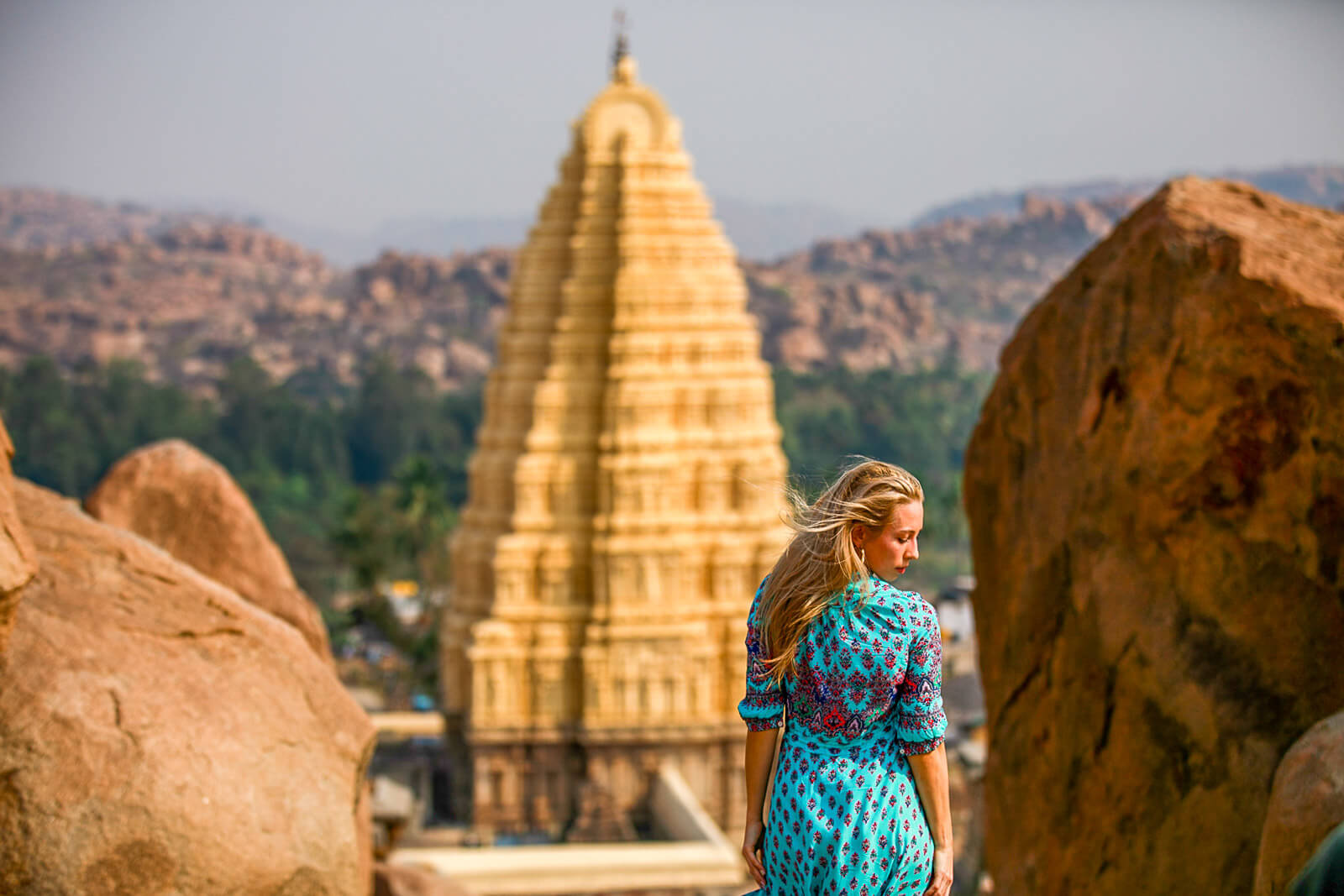 Hampi, the highlight of the Golden Chariot, one of the Luxury Trains of India