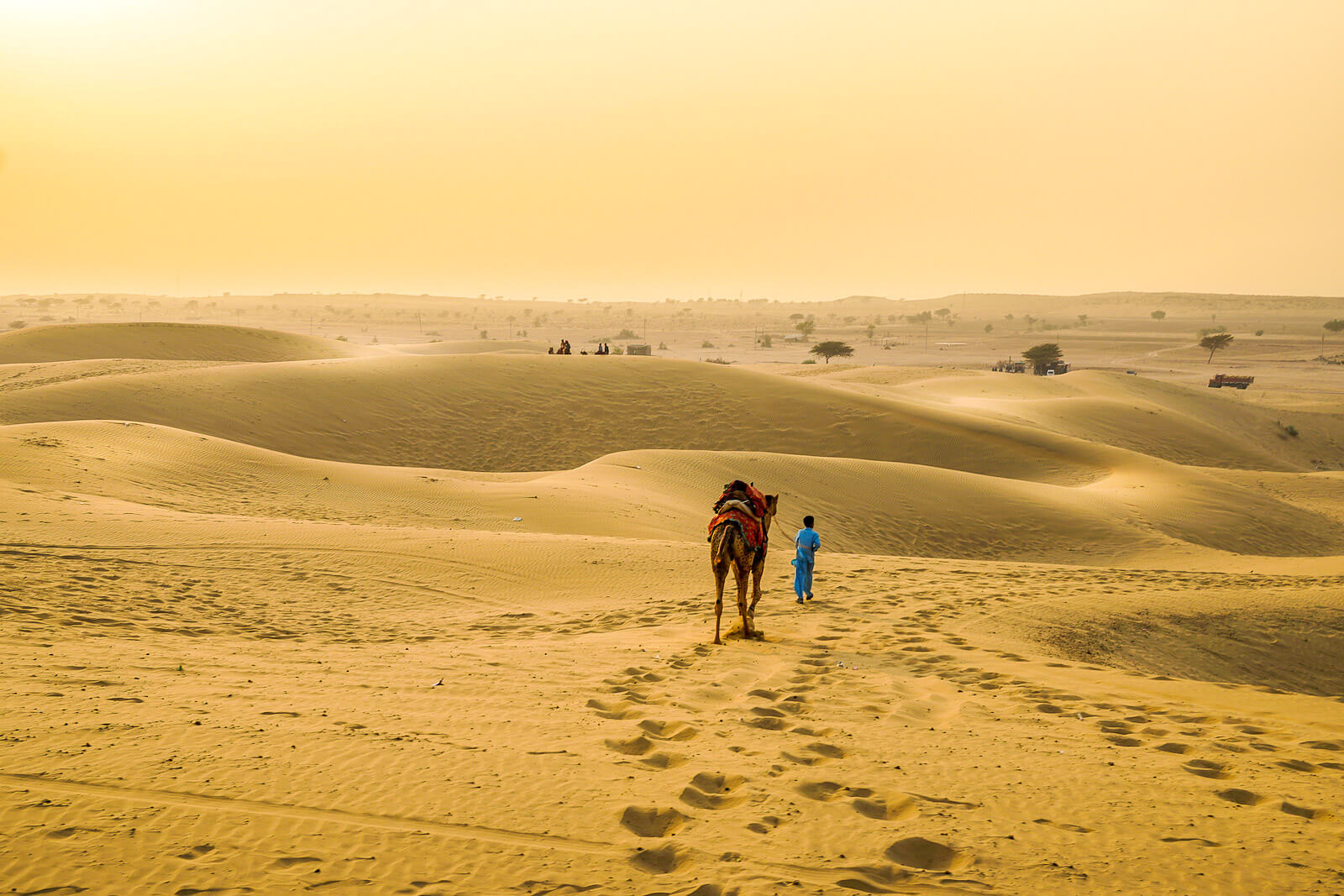 Jaisalmer and the Thar Desert, a stop in the Palace of Wheels, one of the Luxury Trains of India