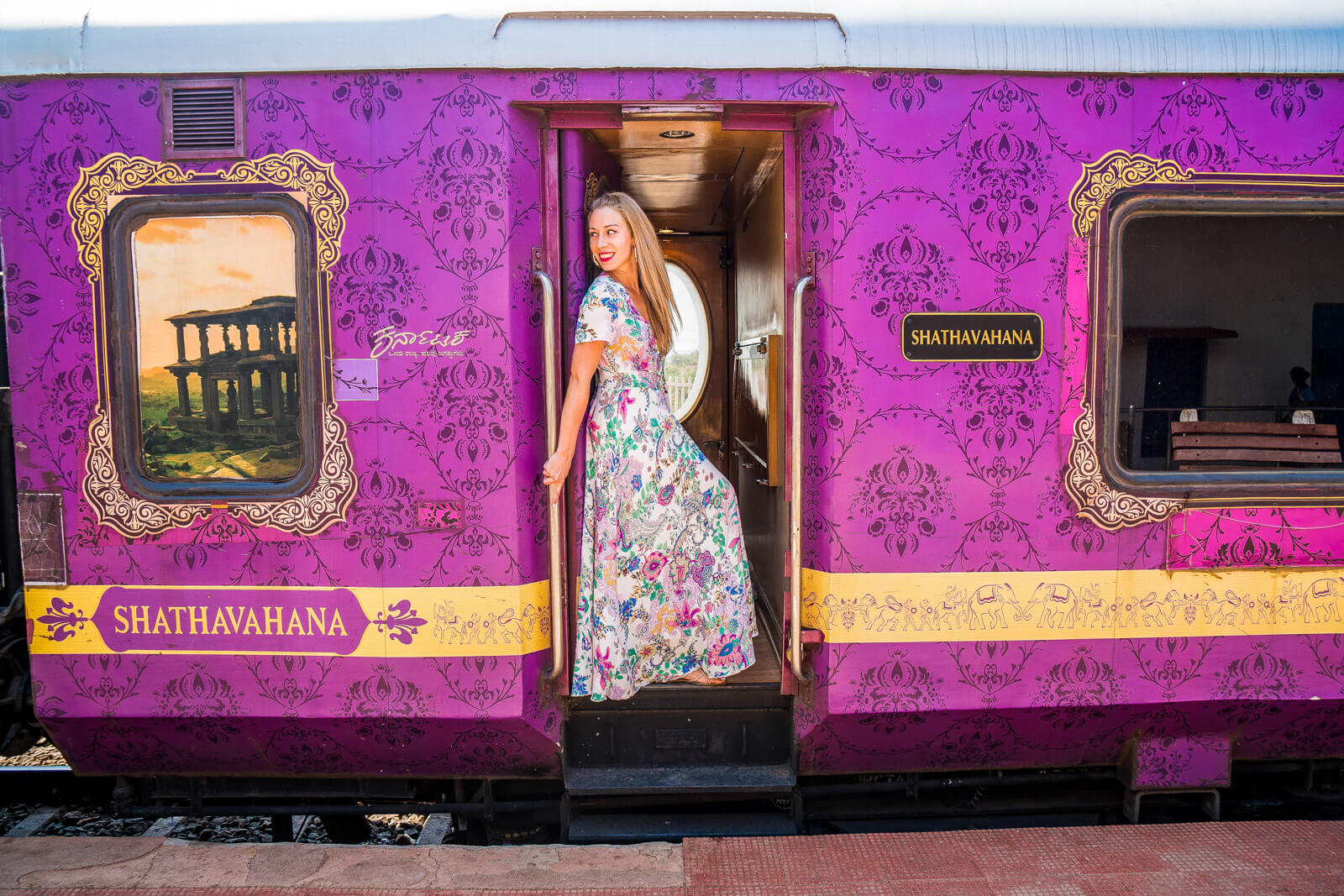 Travel and Keep Fit at the Golden Chariot, one of the Luxury Trains of India