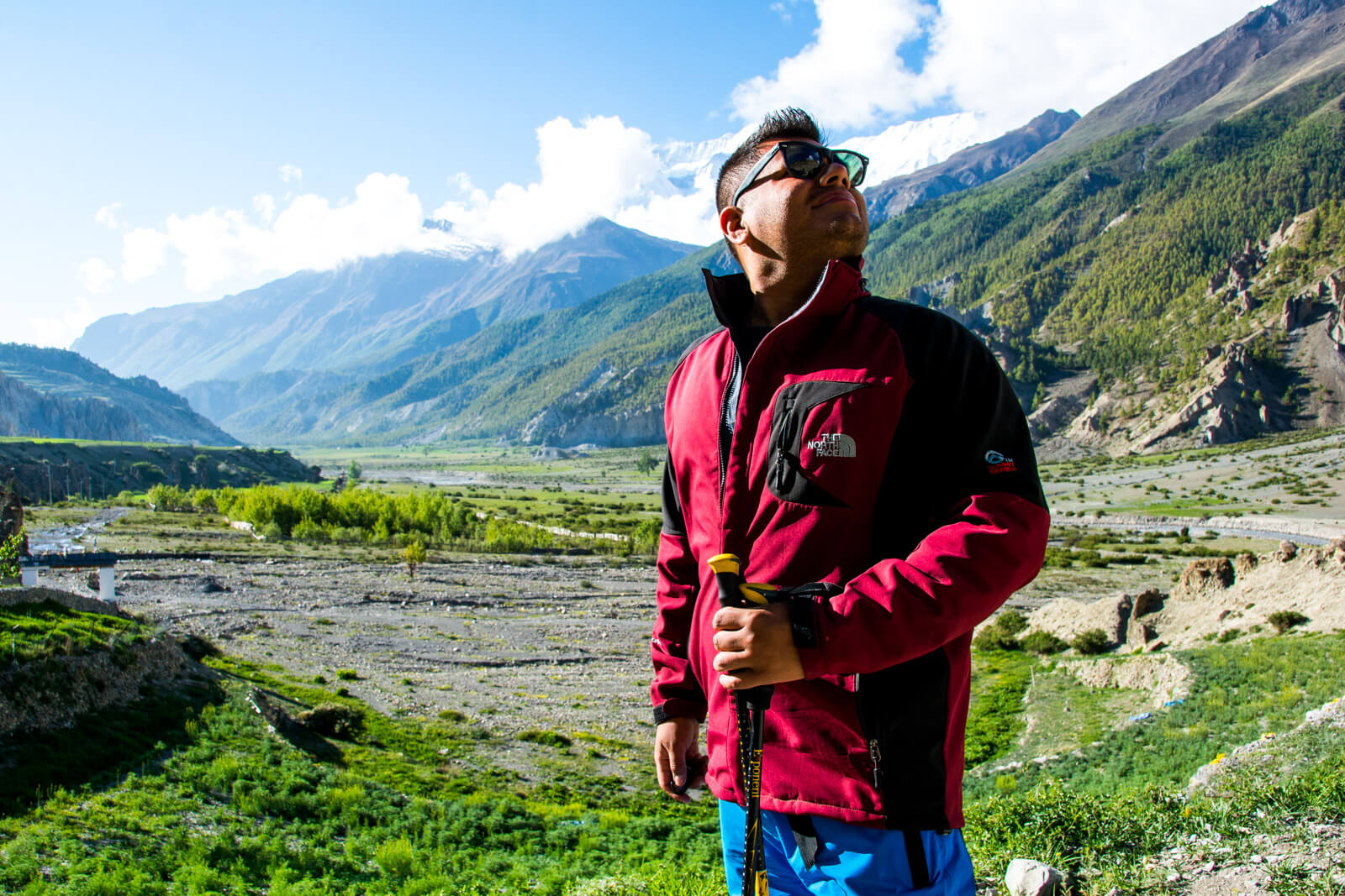 The Man of Wonders Ready to Conquer the Annapurna Circuit Trek of Nepal