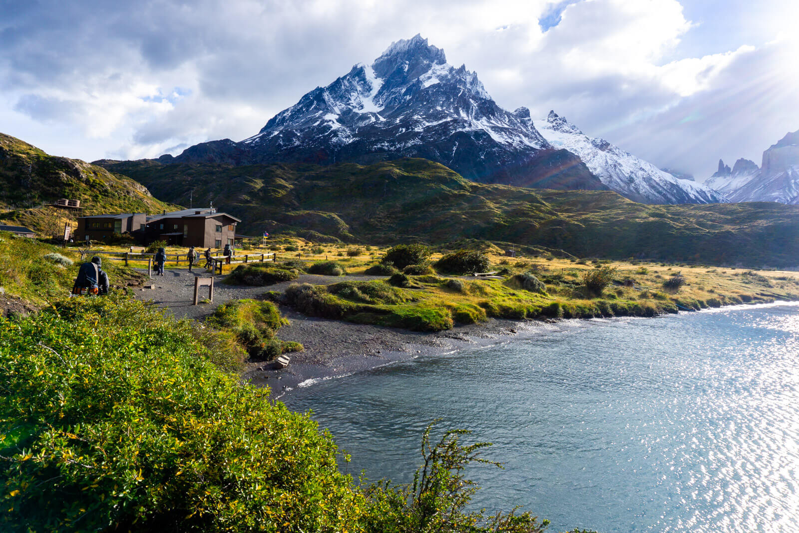 The Paine Grande Refugio and Camping