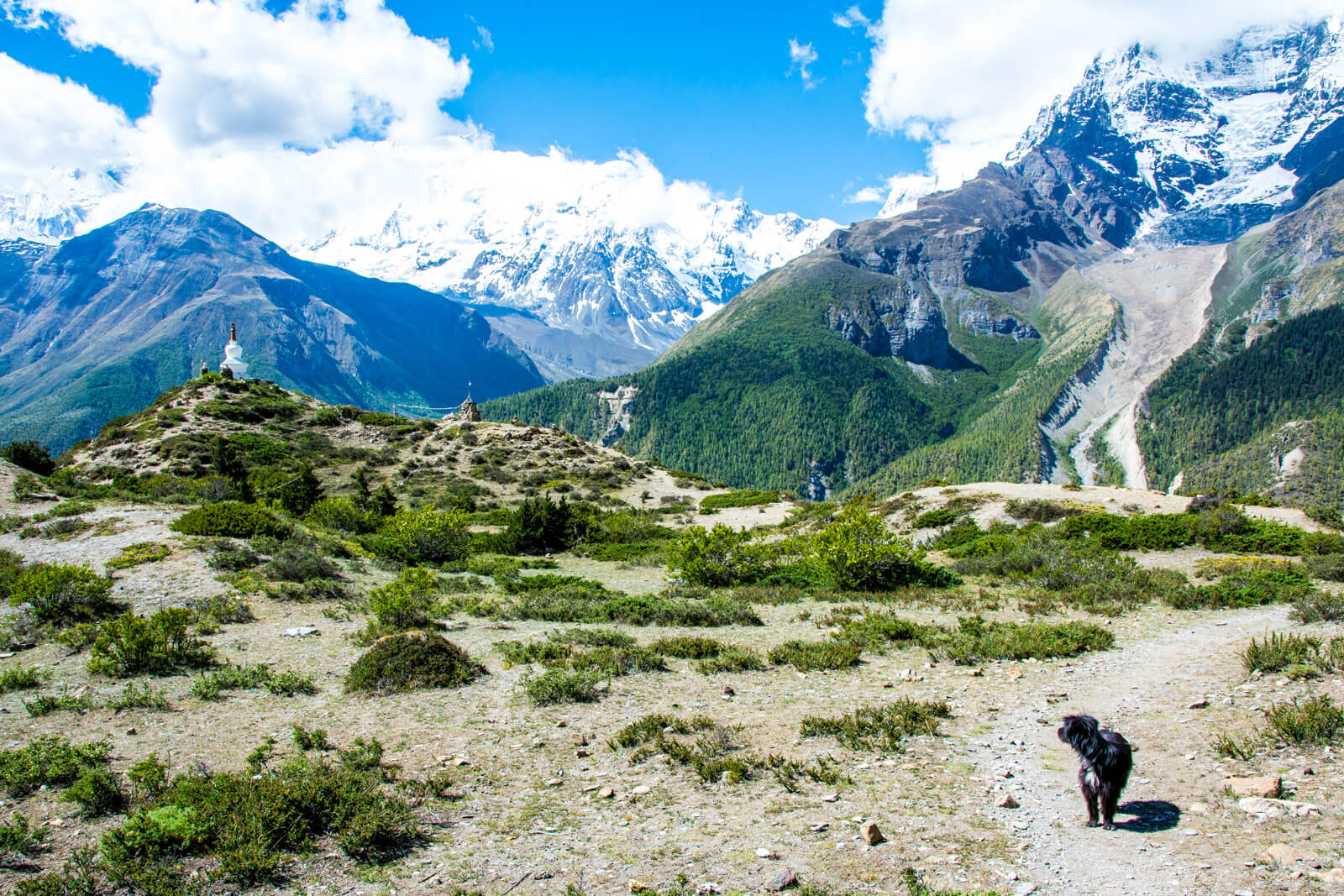 The Panoramic Trek to the Ice Lakes from Manang in the Annapurna Circuit Trek