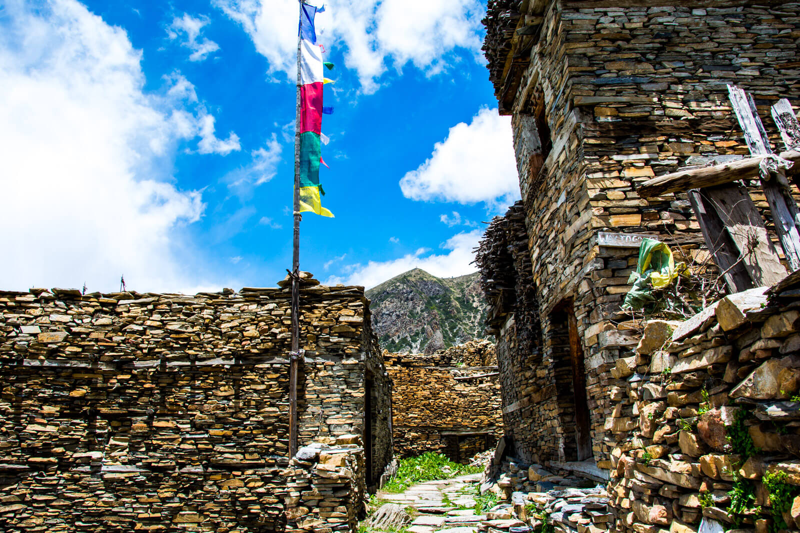 The Tibetean Buddhist Towns of the Annapurna Circuit Trek