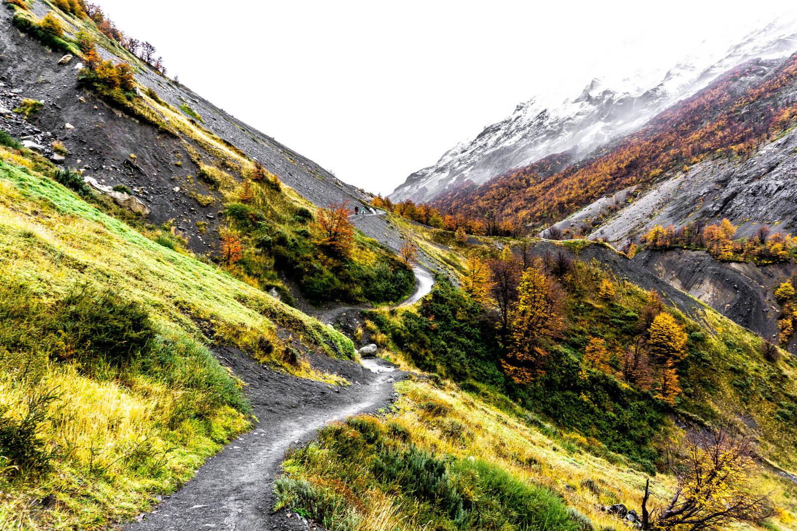 Torres del Paine W Trek Day 01 Camp Chileno